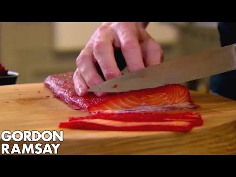 Beetroot Cured Salmon | Gordon Ramsay