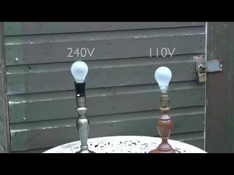 60W Incandescent Lamps - 240V and 110V