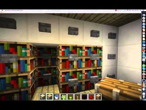 minecraft pr sentation d 39 une maison high tech youtube. Black Bedroom Furniture Sets. Home Design Ideas