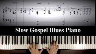 """""""Ray's Mood"""" Slow Gospel Blues Piano"""