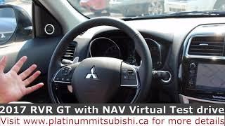 2017 Mitsubishi RVR GT with NAV virtual test drive -- Platinum Mitsubishi