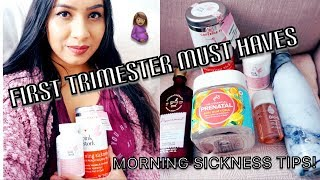 FIRST TRIMESTER MUST HAVES | MORNING SICKNESS ESSENTIALS