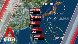 Major sporting events thrown into disarray as Japan braces for Typhoon Hagibis