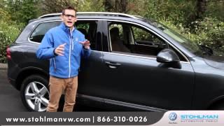 2013 Volkswagen Touareg Walkaround   Stohlman Volkswagen - Vienna VW dealer