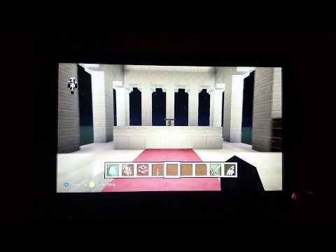 Roman Temple - Minecraft