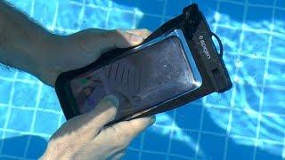 Su Geçirmez Telefon Kılıfını Galaxy S8+ İle Test Ettik! (Sıcaklarda Havuz İyi Geldi!)