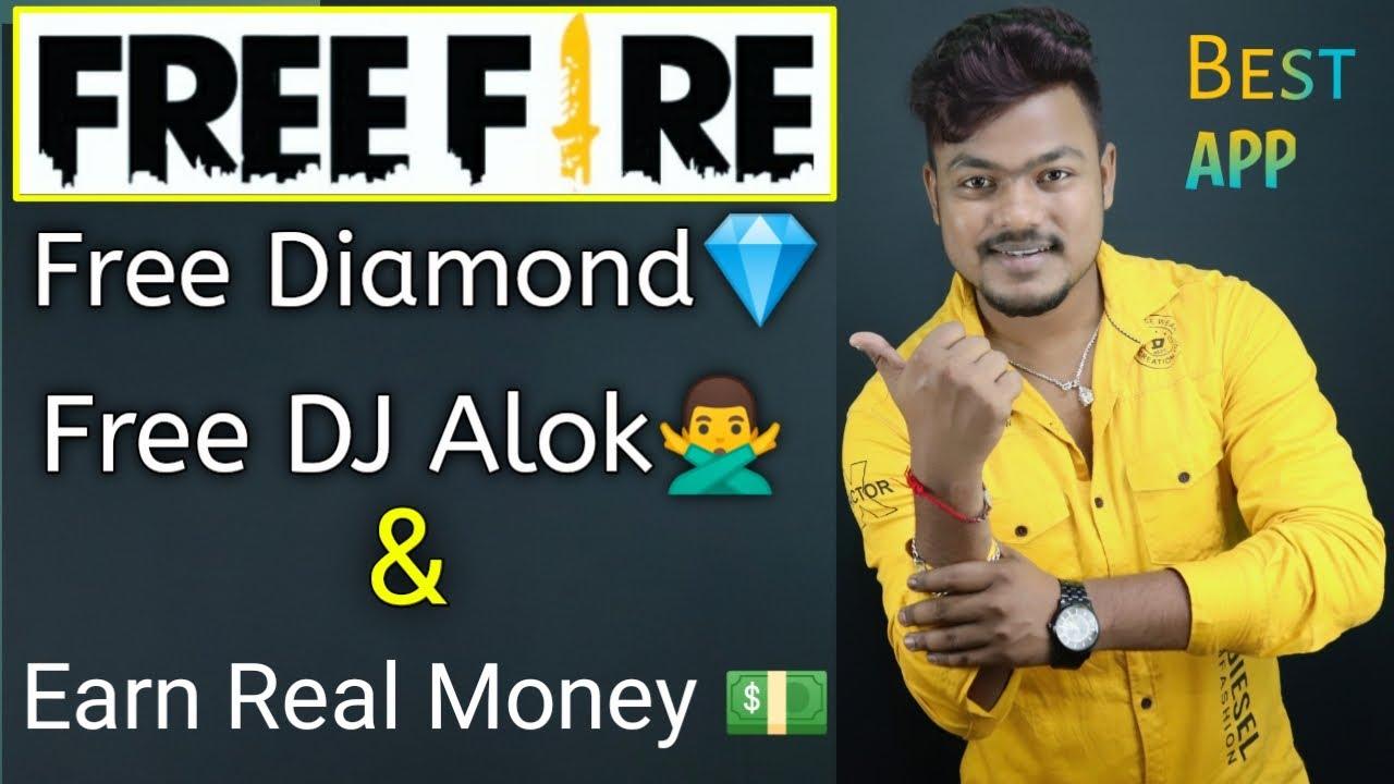 Best Earning App For Free Fire | Free Diamond In Free Fire | Free Dj Alok Character In Free Fire