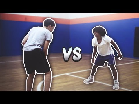 1v1 AGAINST IRL DRIBBLE GOD 🏀   GeeSice Vs Flu TNB IRL Basketball