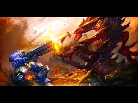 스타크래프트 시네마틱 풀스크린 StarCraft Cinematic Full screen