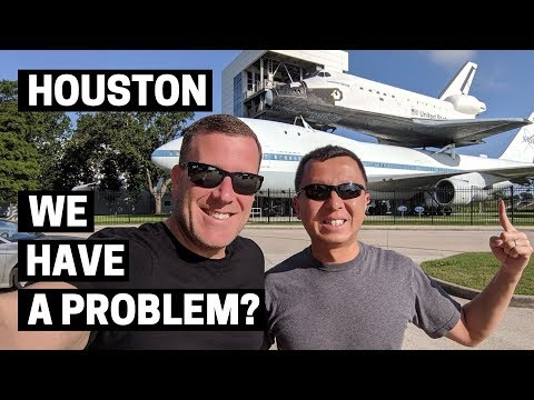 NASA HOUSTON SPACE CENTER IN TEXAS | Visiting the NASA Johnson Space Center