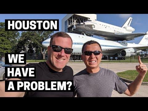 NASA HOUSTON SPACE CENTER IN TEXAS | Visiting the NASA Johnson Space Center