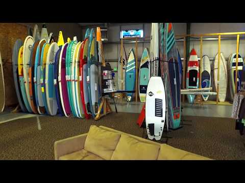 Stand on Liquid Paddleboard Warehouse and Showroom Tour