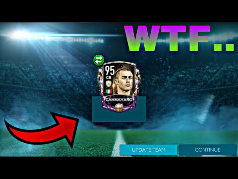 FIFA MOBILE 20- BEST PACK OPENING EVER SO FAR!! LEGEND AND MASTERS PULLED!! 95 OVR CANNAVARO PULLED!