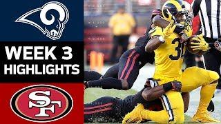 Rams vs. 49ers | NFL Week 3 Game Highlights thumbnail