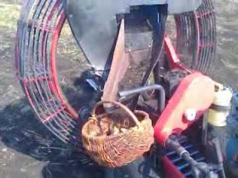 Картофелеуборочный комбайн для минитрактора своими руками
