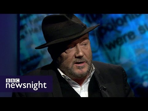 George Galloway and Alex Goldfarb on Litvinenko inquiry  - BBC Newsnight