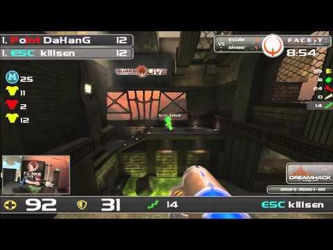 DHW2013 - Quake Live (GROUP B - R4) - k1llsen vs DaHanG