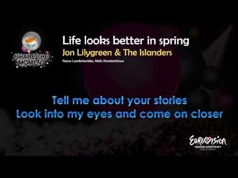 "Jon Lilygreen & The Islanders - ""Life Look Better In Spring"" (Cyprus) - [Karaoke version]"