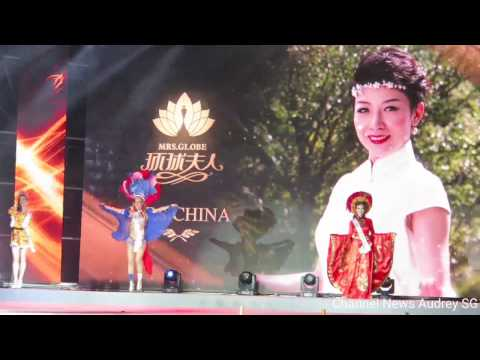 Mrs Globe 2016 - National Costumes Country Introduction  (Mrs Native America to Mrs Vietnam)