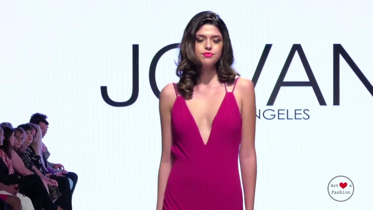 JOVANI LA - LA Fall Fashion Week Runway with Art Heart Fashion - YouTube