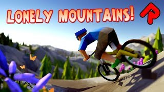 Lonely Mountains gameplay: Thrilling Mountain Bike Action! (Lonely Mountains Downhill demo)