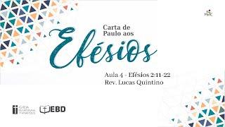 EBD Online   Aula 4 - Carta de Paulo aos Efésios  Ef 2:11-22