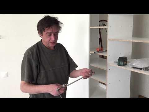 Сделать встроенный шкаф купе своими руками видео. Необходимый инструмент