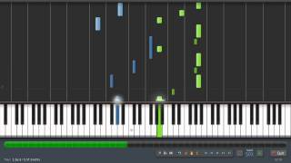 Twilight Soundtrack - River Flows In You - Piano Tutorial (50%) Synthesia