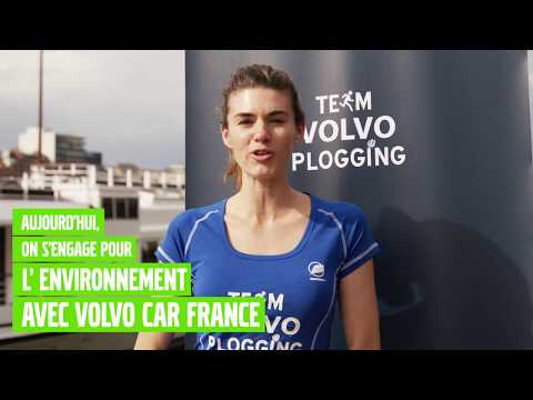 Volvo Cars Plogging - La course écoresponsable