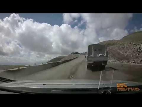 Из Армении в  Грузию!Участок дороги от Ванадзора до Алаверди супер!!!