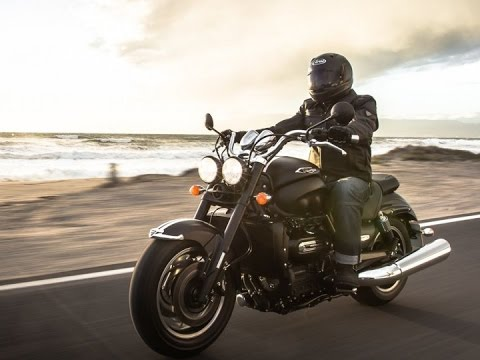 2015 triumph rocket 3 roadster motorcycles - youtube
