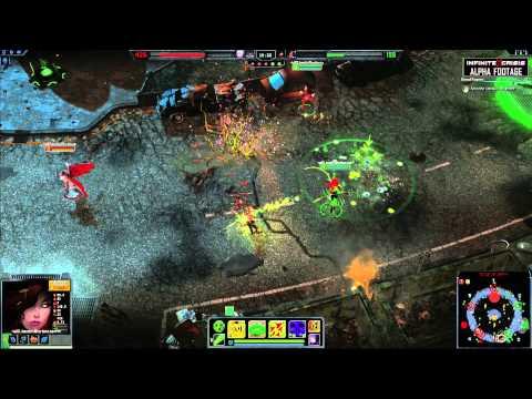 Infinite Crisis - Gameplay Poison Ivy