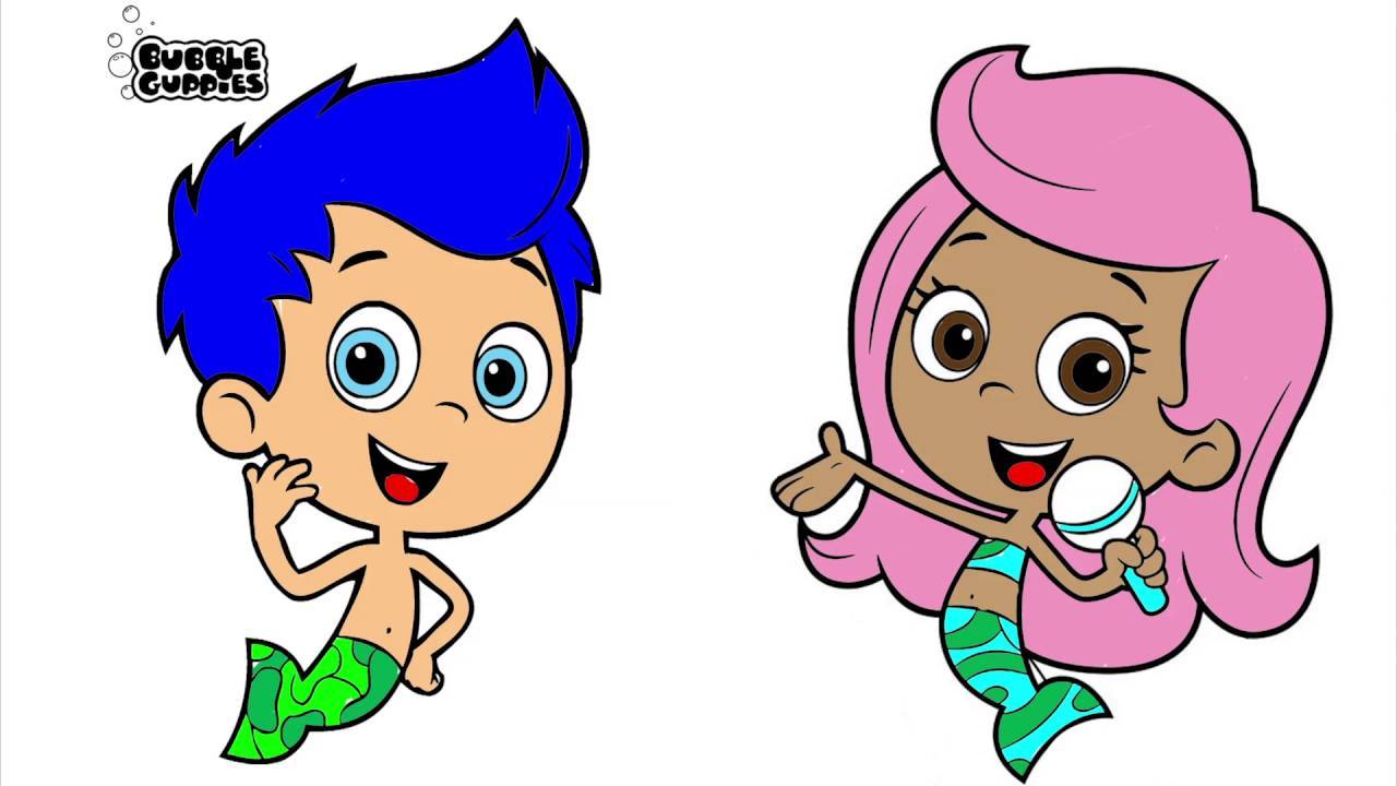 bubble guppies coloring page # 25