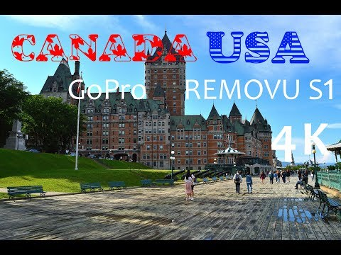 USA Canada East Coast Road Trip | GoPro Removu S1 HD 4K
