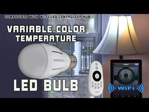 Variable Color Temperature LED Bulb