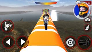 Impossible GT Bike Stunts Racing Tracks #Android Bike Games To Play #Bike Games 3D
