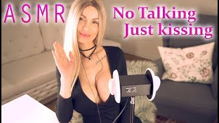 ASMR No talking just 3Dio kissing - most intense kissing tingles you've ever felt tingles