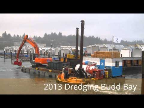 Dredgin' at the Olympia Yacht Club and Port Marine Terminal