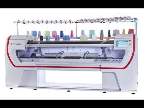 Knitting Machine Used In Textile Industry