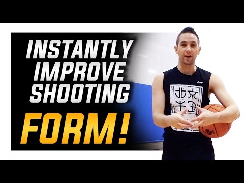 Instantly Improve Shooting Form: How to Shoot a Basketball Better