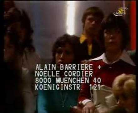 Alain Barriere & Noelle Cordier  Tu T`en Vas