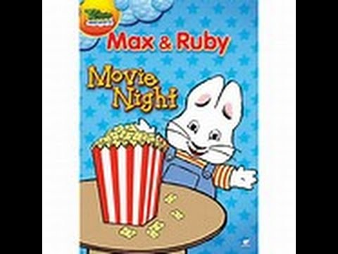 Max And Ruby Movie Night Dvd Menu Youtube