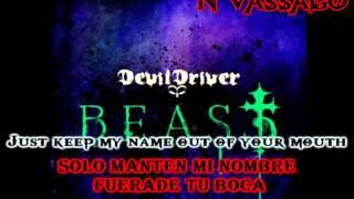 Devildriver - Shitlist (Subtitulos español)