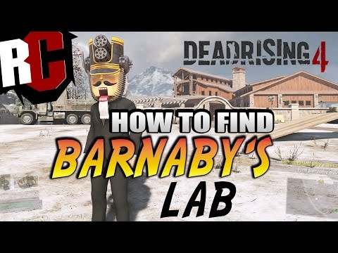 Dead Rising 4 - How to find Barnaby's Lab in Case 3 (Barnaby's Lab Location)