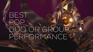 """Lady gaga & ariana grande win for best pop duo or group performance """"rain on me"""" at the 63rd grammy awards. 2021 awards show: complete winners ..."""