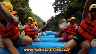 Rafting en Morelos seccion baja del rio Amacuzac - TERRA 3 - Xstream Rafting