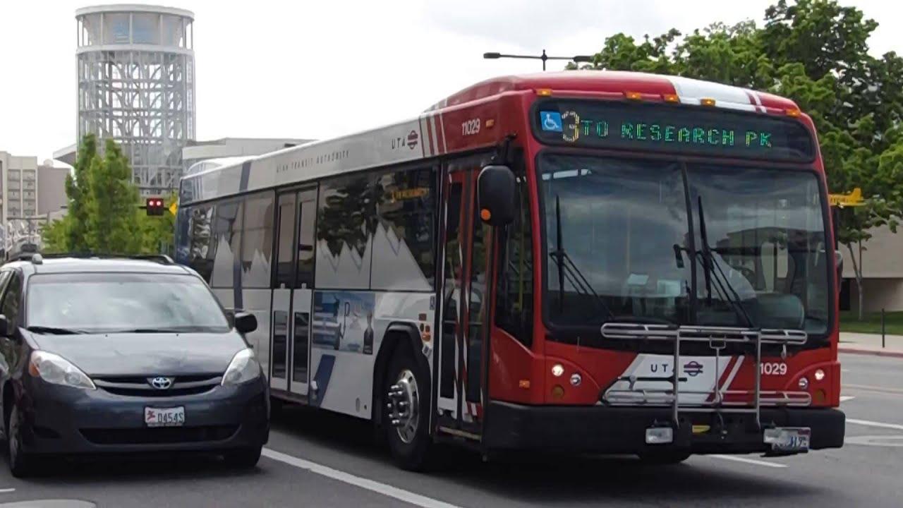 Uta Bus Gillig Brt Bus 11029 On Route 3 Kesarch Park Youtube