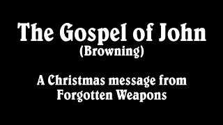 Gun Jesus Apocrypha: The Gospel of Browning