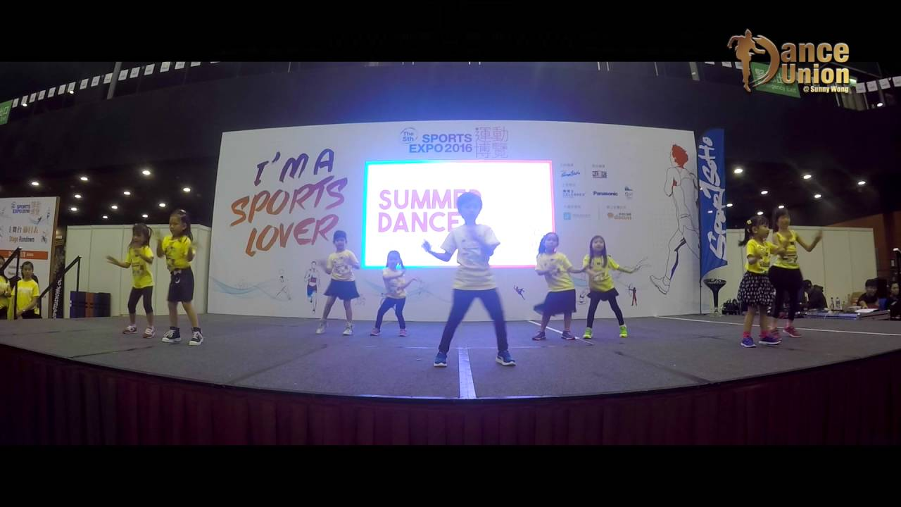 兒童舞蹈表演 - 運動博覽 初班(4-6歲) - YouTube