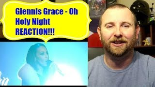 Glennis Grace - Oh Holy Night REACTION!!!